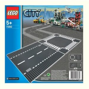 LEGO 7280 Grondplaten